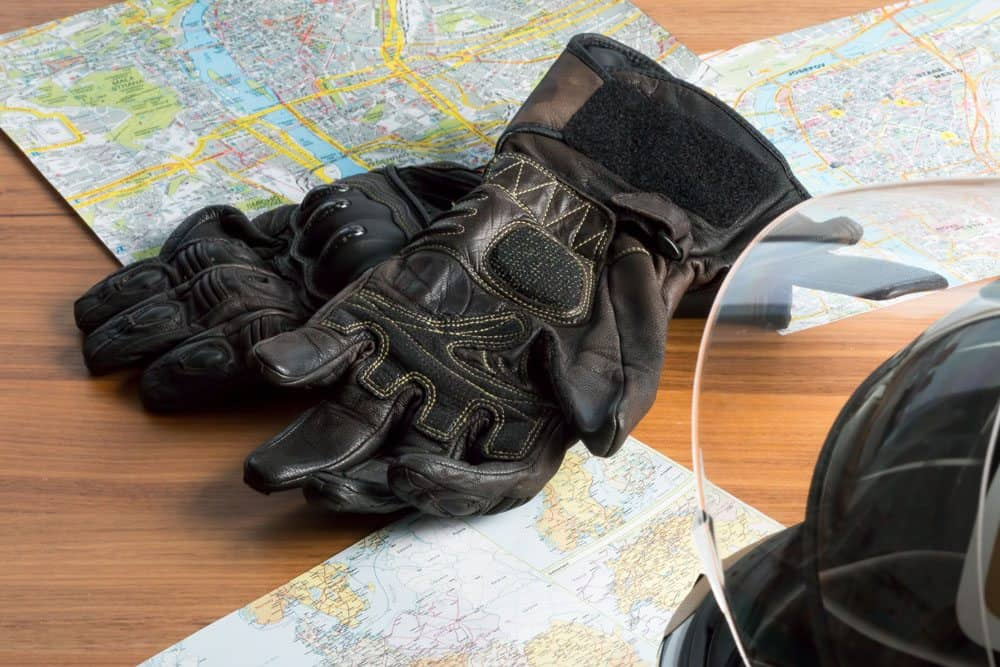 Motorcycle Gloves with Wrist Support